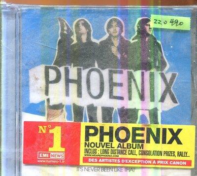 *還有唱片三館* PHOENIX / IT'S NEVER BEEN LIKE THAT 全新 ZZ0490
