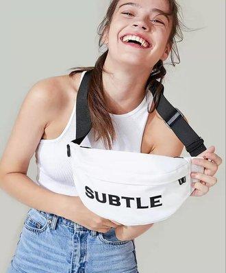 Subtle最新Subtle FELIS胸包(小) 斜挎包休閒INS腰包 街頭嘻哈包 斜肩小包 簡單有型 防水