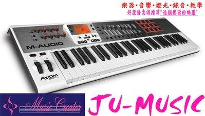 造韻樂器音響- JU-MUSIC - 全新 M-Audio Axiom AIR 61 MIDI 主控 鍵盤 另有 AKAI ROLAND