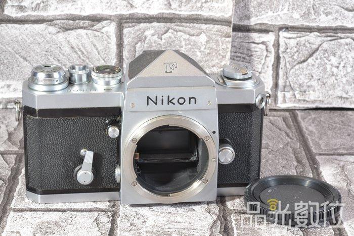 【品光攝影】Nikon 大F 機械式 底片機 135底片 日本製 銀色 手動 HA#71057