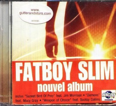 (甲上唱片) FATBOY SLIM - Halfway Between the Gutter and the Stars