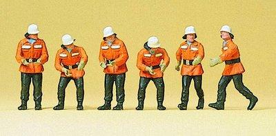 傑仲 (有發票) 博蘭 公司貨 Preiser 人物組 Firemen in action 10242 HO