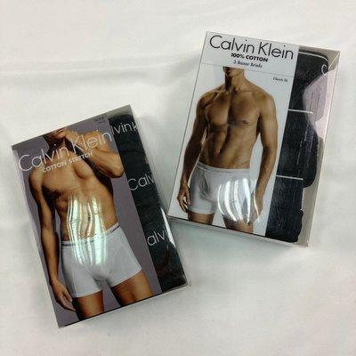 8195 DR1 三件 現貨 黑色 Calvin Klein內褲 四角褲 彈性 CK 送禮 印度製