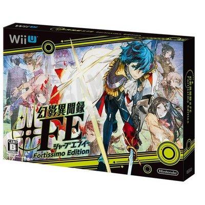【全新未拆】WiiU 幻影異聞錄 #FE 特別版 限定版 日文版 【台中恐龍電玩】