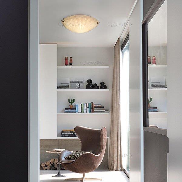 ~Lighting.Deco~挑戰全網最 簡約 玻璃吸頂燈 和室房 走道 浴室 玄關  光