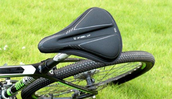 wheelup自行車矽膠坐墊套 山地車加厚GEL鞍座套騎行裝備 腳踏車 單車  坐墊