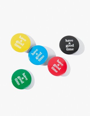 日本代購 保證正品 have a good time Choco Badges 5色