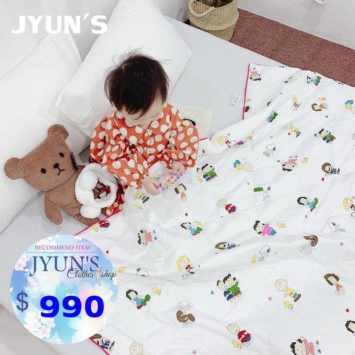 JYUN'S 春夏新款SNOOPY史努比純棉夏被涼被子 寶寶被 可機洗 2款 預購