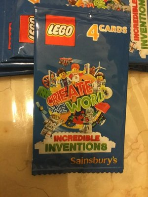 Lego incredible inventions 人仔 card
