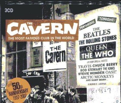 *真音樂* THE CAVERN / THE MOST FAMOUS CLUB 3CD 二手 K17527 (封面底破)