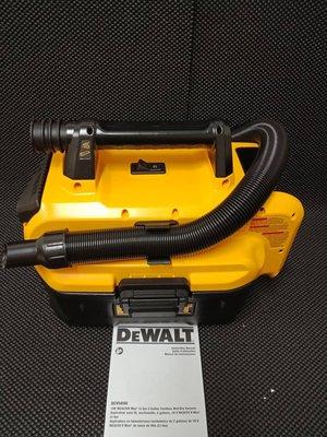 【大寮工具】全新 得偉 DEWALT DCV580H 充電式乾溼兩用吸塵器 吸塵器 兩用 充電 乾濕