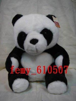 貓熊來了---熊娃娃.特價$120元.