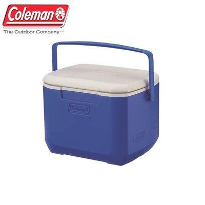 美國Coleman│CM-27859 EXCURSION冰箱15L│海洋藍│保冷箱 行動冰箱│大營家露營登山休閒
