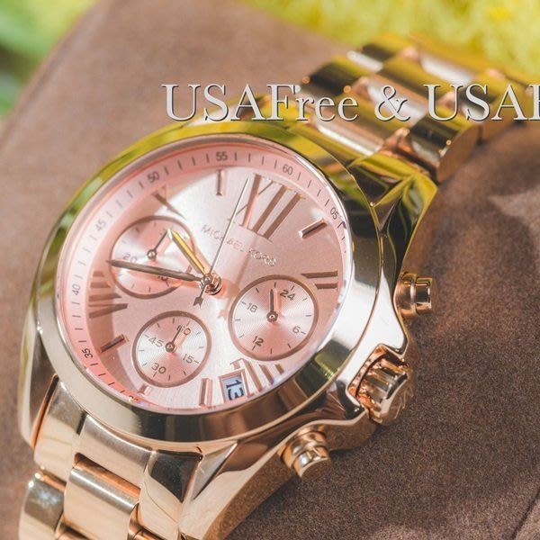 【USAFree】【Michael Kors】美國正品►代購 MK5799 粉絲熱門羅馬MK錶