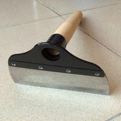 白鐵  木柄  5寸  鉚釘耙  除草耙  鋤頭