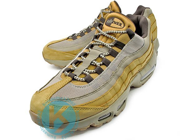 NIKE AIR MAX 95 PRM LEATHER WINTER WHEAT 卡其 小麥 大便 538416-700