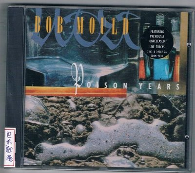 [鑫隆音樂]西洋CD-BOB MOULD巴布默德:POISON YEARS (全新)免競標