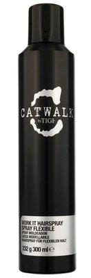 ❤【魔法美妝】TIGI CAT WALK聚光彈力定型噴霧300ml Work WORK IT HAIRSPRAY