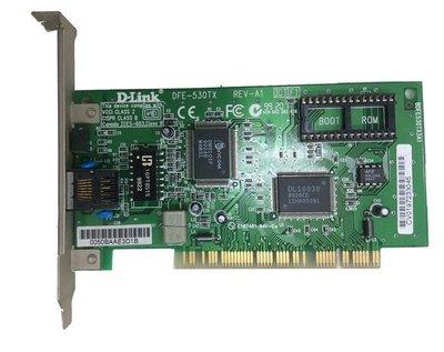 D-Link DFE-530TX REV-A1 8DFE530TX3A1  網卡 乙太網路卡 板147