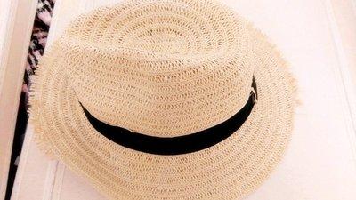 300元起標~✿超美可愛~休閒踏青小草帽編織/荷葉帽