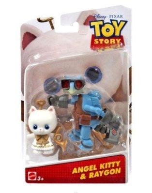 全新 🔥 絕版 現貨🔥 2015 Disney Pixar Toy Story 4 反斗奇兵 4  Angel Kitty & Raygon