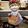 草莓帽女孩櫃台收銀台名片盒名片架波麗娃娃...