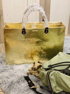 現貨 BURBERRY 手作紙袋改造包 手作改造高檔名牌包 手作改造高檔名牌紙袋包