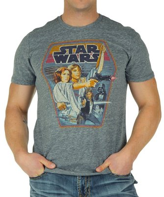 JUNK FOOD STAR WARS STEEL T-SHIRT