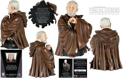 金錢貓雜貨 全新 Star Wars 星際大戰 Gentle Giant Bust obi wan 歐比王 胸像