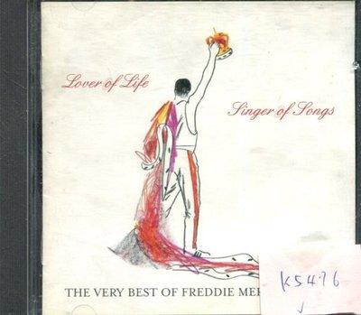 *真音樂* FREDDIE MERCURY / BEST 歐版 二手 K5476 (清倉.下標賣2)