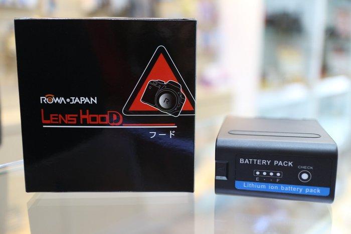 【日產旗艦】樂華 ROWA NP-F990 鋰電池 Sony 7.4V 8800mah 攝影機 LED 另售 F970