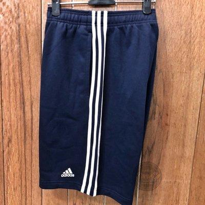 柚子的拍賣 ADIDAS ORIGINALS 3-Stripes Shorts 三線 短褲 白線 深藍 男 BP5467