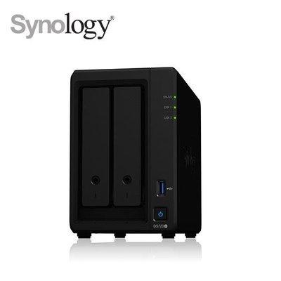 @電子街3C 特賣會@送到府安裝服務卡Synology DS720+ WD 4T(WD40EFRX 紅標*2台)