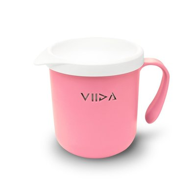 【現貨】QB選物 ❤ VIIDA ❤ Soufflé  抗菌不鏽鋼杯-甜心粉
