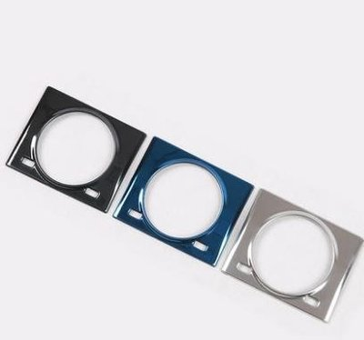 現貨~促銷~特賣~適用於LEXUS雷克薩斯RX200t 450h RX300時間石英鐘表裝飾框不銹鋼亮片~SLW5896