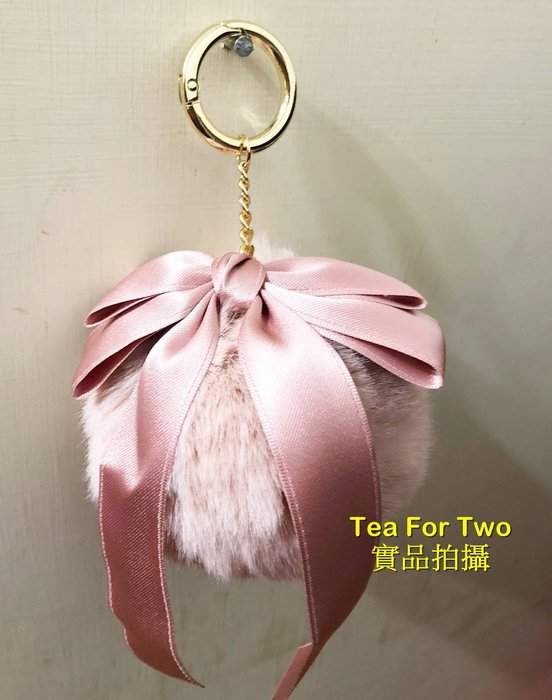 韓國正品(現貨No2) - QQ毛球吊飾 - 粉色