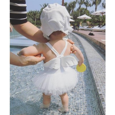 兒童 泳衣 正韓0-1-2-3歲寶寶女...