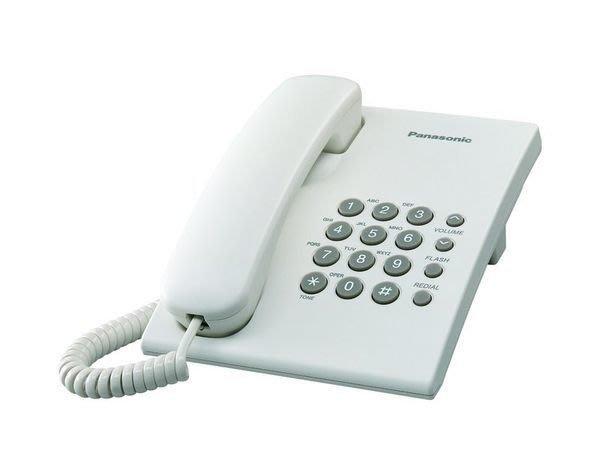 ✿國際電通✿【保固一年】Panasonic KX-TS500 / KX-TS500MX 有線電話批發 (白色/黑色)