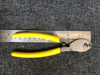 全新【日本貝印】SHELL剪線鉗 開線鉗electricity line cable cutter plier ST-606made in Japan原$200