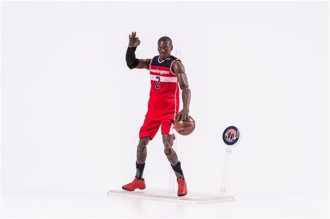 【阿忿貓的模型動漫周邊】籃球明星 NBA 2號紅衣 約翰·沃爾 John Wall 1/9 可動盒裝手辦