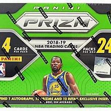 (下單前先詢問)熱銷狂漲 2018-19 Panini Prizm NBA Retail Box 籃球 球員 卡盒  拼Luka 新人