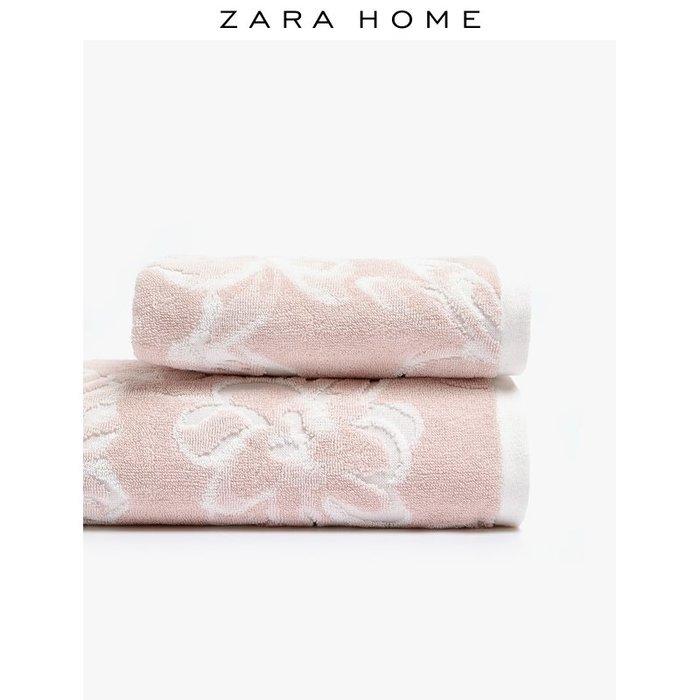 浴巾 毛巾Zara Home 提花棉質毛巾 41702013620