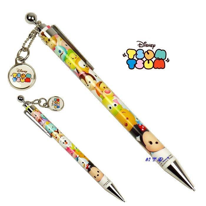 迪士尼 滋姆滋姆 自動鉛筆 附吊飾 P1 ~ TSUM 熊抱哥 史迪奇 小熊維尼 米奇米妮 生日禮物 畢業禮物 正版
