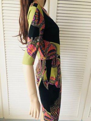 原價七萬  五分袖充滿曲線美洋裝