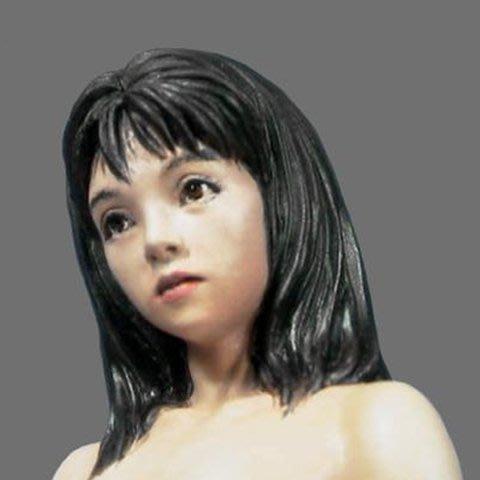 白模需要自行上色1/12樹脂人物非wf18向未涂裝美女gk白模型手辦日本包郵R14