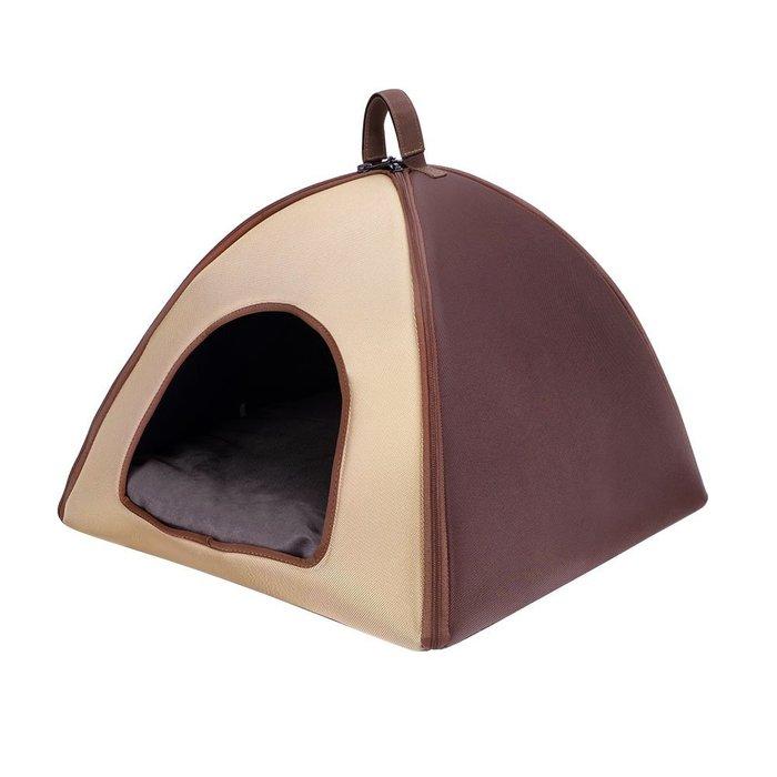 『IBIYAYA』FB1206-BR加大版寵物三角窩----卡其