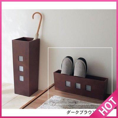 ~FUJIJO~日本存貨款~日本限定販售【和式簡約系列】木質 簡便型室內拖鞋架 鞋櫃 鞋架