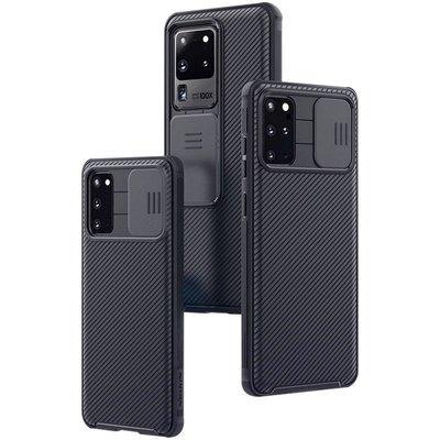 Muses 手機保護套 耐爾金三星Galaxy S20 Ultra手機殼s20s20+保護鏡頭推拉防摔軟邊