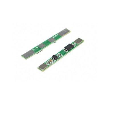3.7V 電池充電保護板模組 適用聚合物18650 可點焊多並3A過流值 W177 新北市