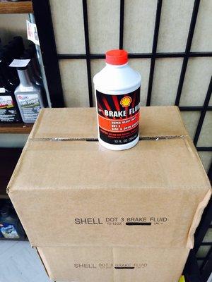 【殼牌Shell】BRAKE FLUID、DOT-3、煞車油、12罐/箱【歐洲進口】-滿箱區